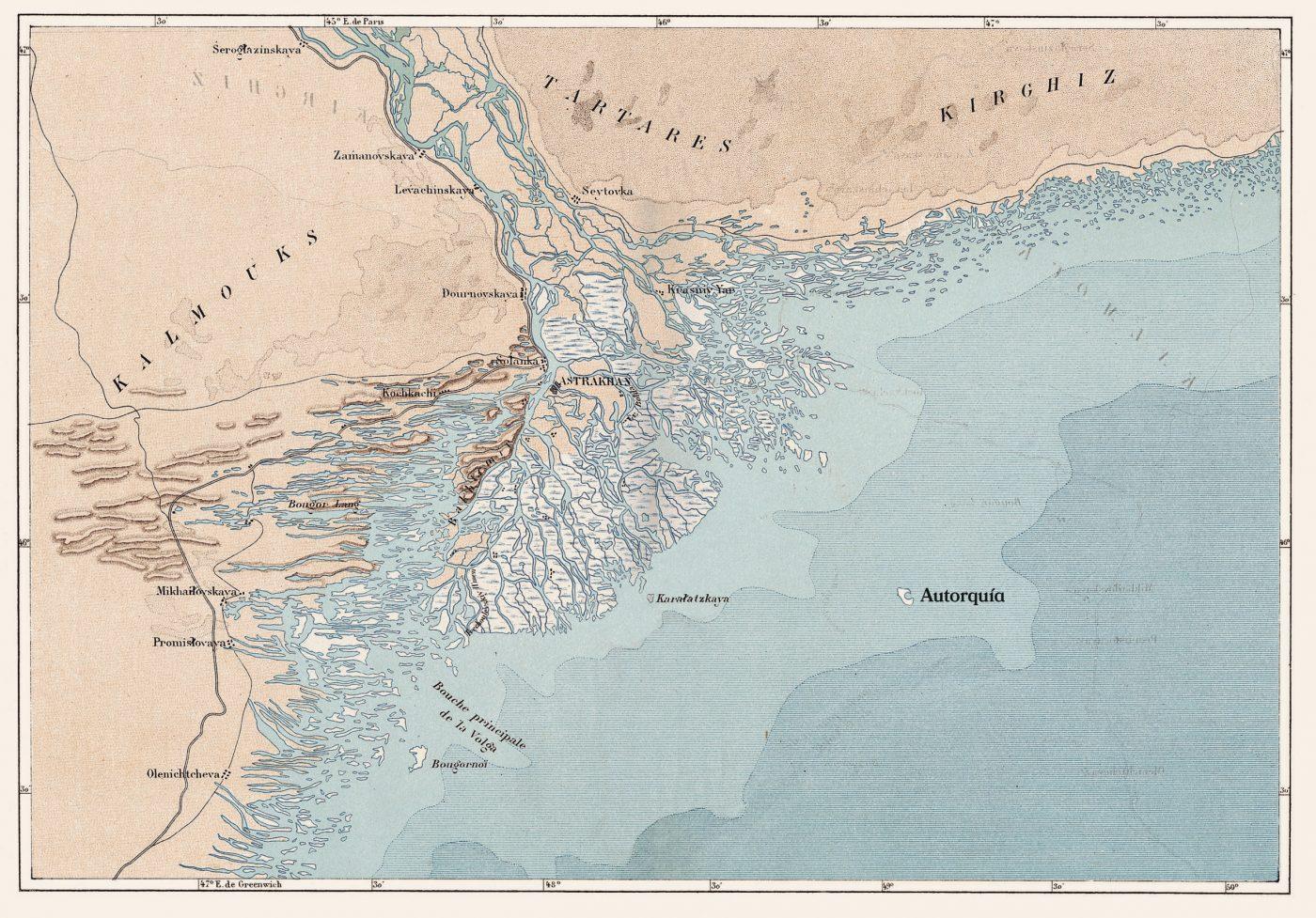 Mapa Autorquía Javier Miró