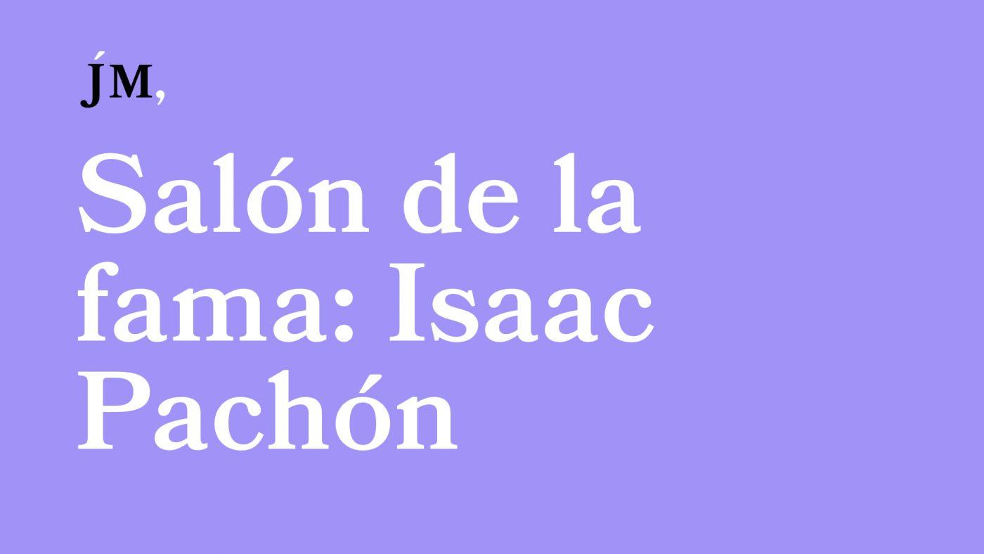 Isaac Pachón abre el Salón de la fama de la autoedición. Javier Miró