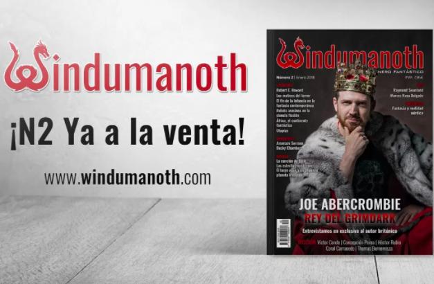 Empieza mi colaboración en la revista Windumanoth. Javier Miró