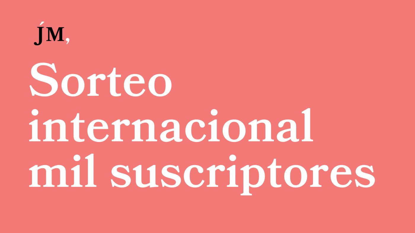 Soreto internacional por los 1000 suscriptores. Javier Miró
