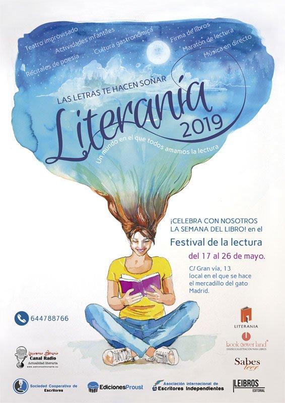 Literania 2019. Javier Miró.