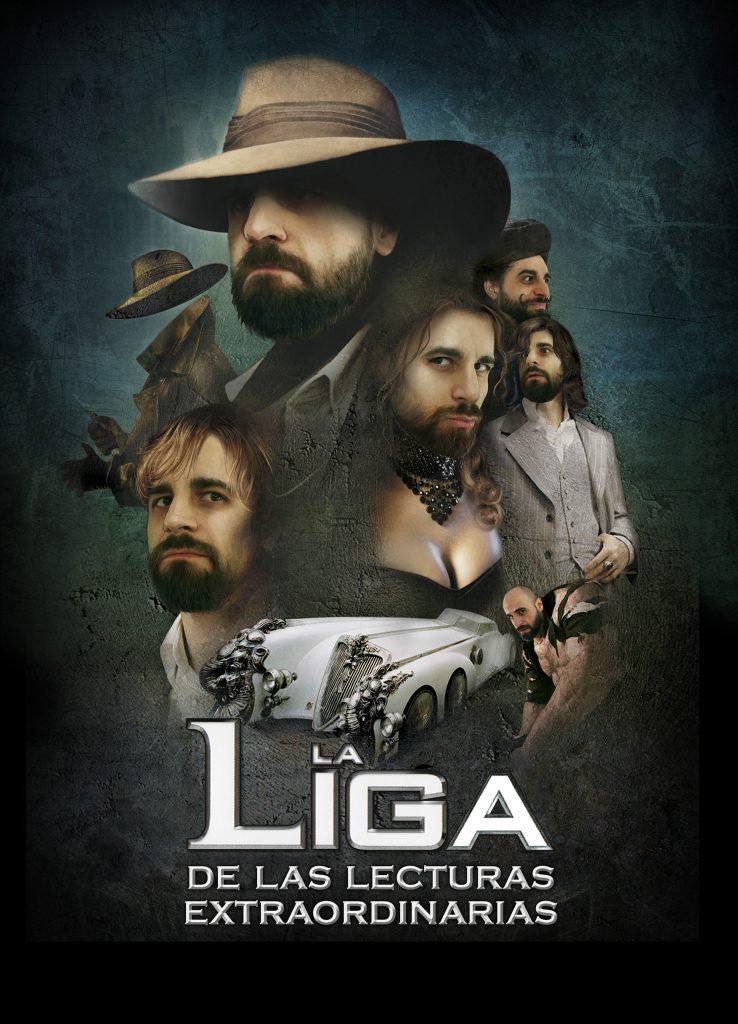 Imagen oficial de La Liga de las Lecturas Extraordinarias. Javier Miró